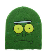 Rick and Morty Pickle Rick Beanie Winter Hat Green - $24.98