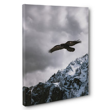 Soaring Eagle Over Mountains Photography CANVAS Wall Art - $29.21