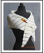 Urban Kerchief, scarf, shawlette, women's fashion, hand made crocheted s... - $21.99
