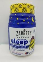 Zarbee's Naturals CHILDRENS Sleep AID Melatonin Supplement 50 CHEWABLE G... - $15.35