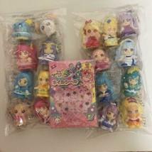 Lot of 17 Pretty Cure Precure Mini size Figure Doll & Nail seal set New ... - $142.99