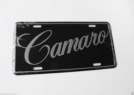 Chevy Camaro Chevrolet Muscle Car Metal License... - $7.79