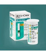 Accu-check Active 100Test Strips(2box) Blood Medical Check exp 2021.11 F... - $37.62