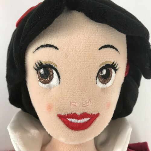 "Disney Snow White 20"" Plush Doll Stuffed Animal Gold Blue Dress Red Cape"