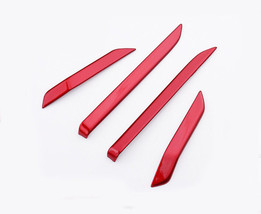 Red Gloss 4 doors speaker moulding cover trim for 2017-18 CRV - $14.99