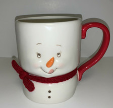 "Showpinions ""I Love Milk & Cookies"" Coffee Mug Cup Snowman Christmas NWT - $23.26"