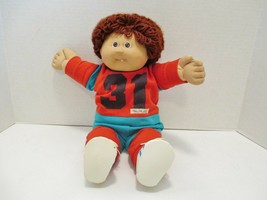 """Vintage Cabbage Patch Kids Doll 1978 to 1982 Basketball Outfit 16"""" tall - $49.30"""