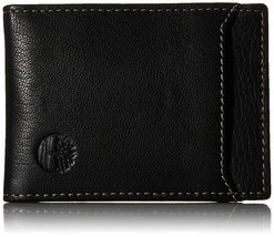 Timberland Men's Premium Genuine Leather Money Clip Credit Card Id Wallet image 2