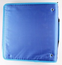 "NEW Five Star Zipper Binder + Tech Pocket, 2"", Blue Orange, 12-3/4"" x 12"" NWT image 2"