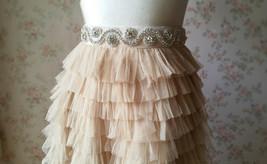 RHINESTONE Sash Belt Wedding Accessories Rhinestone Bridal Bridesmaid Sash NWT image 2