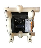 """Double Diaphragm Air Pump Chemical Industrial Polypropylene 1/4"""" or 3/8 ... - $277.19"""