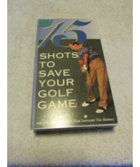 15 Shots To Save Your Golf Game VHS - $6.99
