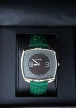 NEW Green Strada Midsize Watch, Quartz Mvmt, Water Resistant Stainless S... - $28.90