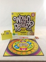 2011 Spinmaster 100% Complete Would You Rather Deluxe Family Board Game - $14.95
