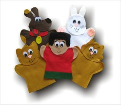 Le petit chat cherche une famille Puppets for AIM Language Learning - $29.99