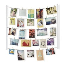 Photo Display Frame Hanging Picture Holder Wall Home Decor Collage Art W... - $36.44