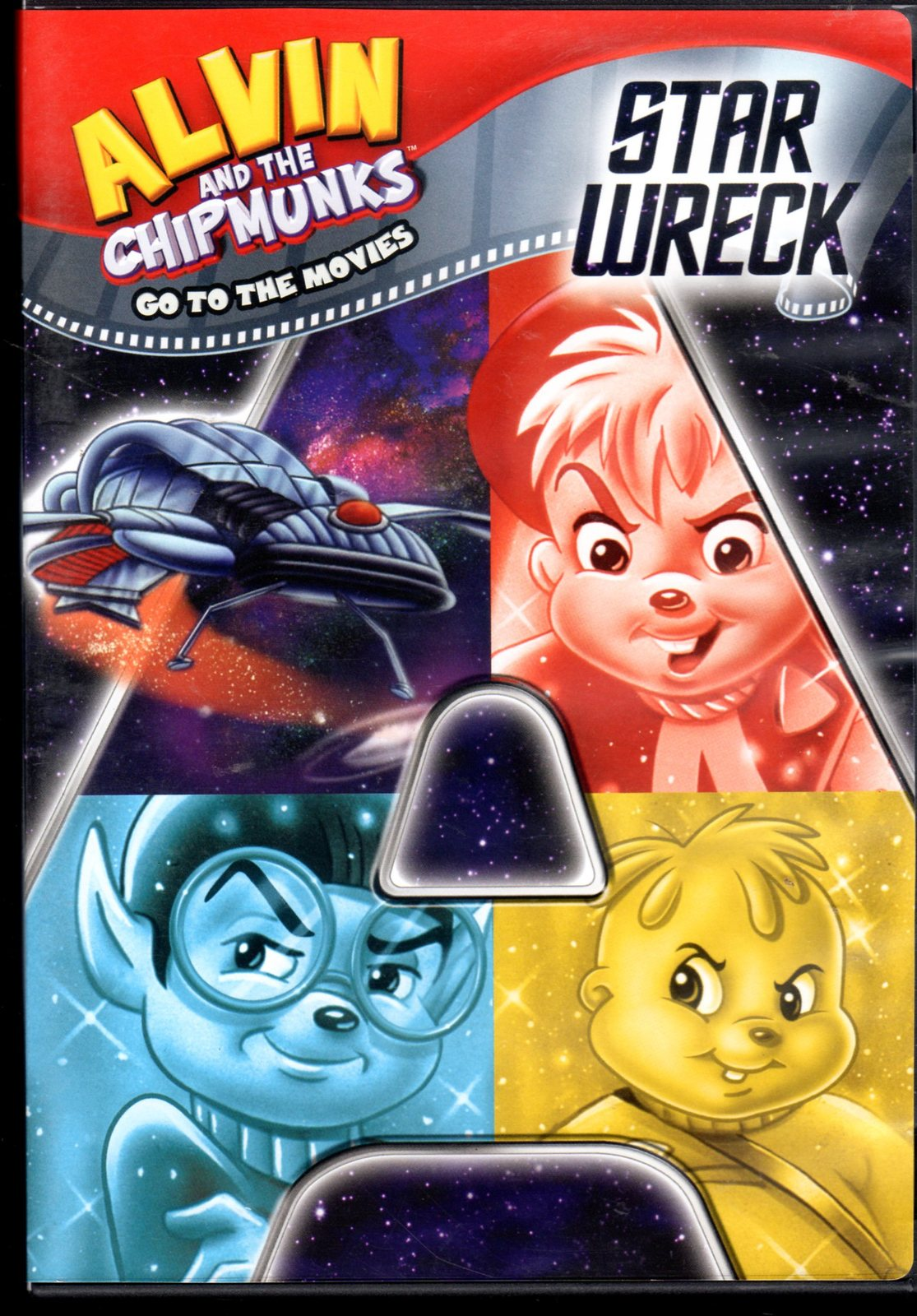 Alvin And The ChipMunks Star Wreck (DVD)