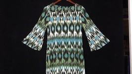 Alfani Petite Small P/S Shirt 3/4 Sleeve Shirt with Flare Sleeves - $17.77