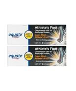 Equate Athletes Foot Antifungal Cream 2oz ea. ( 2 packs) - $15.35