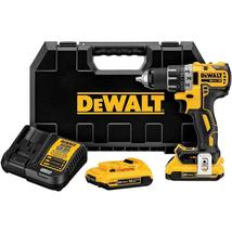 DEWALT 20-Volt MAX XR Lithium-Ion Cordless 1/2 in. Brushless Compact Drill/Drive - $185.12