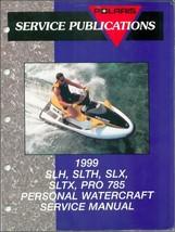 1999 Polaris SLH, SLTH, SLX, SLTX, PRO 785 Personal Watercraft Service Manual CD - $12.00