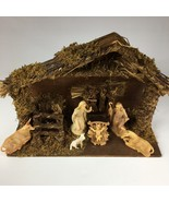 Vintage Christmas Moments Nativity Set with 6 figures by Regal - $32.31