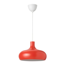 IKEA VAXJO Pendant Lamp Orange, Aluminum, 603.942.97 - NEW IN BOX - $89.99