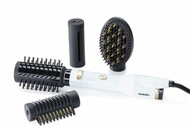 BaByliss AS545E Brush Rotary Of Air 4 Heads Special Edition White & Gold - $317.14