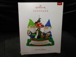 "Hallmark Keepsake ""Dueling Gnomes"" 2019 Sound/Motion Ornament USED See D... - $10.64"