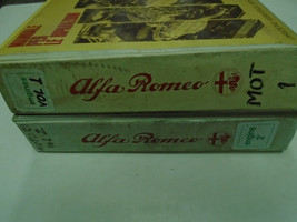 1980s Alfa Romeo Engines Service Repair Manual Factory OEM Books 2 Volum... - $382.69