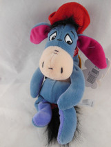 "Disney Store Winnie the Pooh Cowboy Eeyore Bean bag Plush with tags 9"" - $9.00"