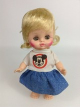 "Horsman Disney Mickey Mouse Club Official 8"" Mouseketeer Doll 30 Vintage 1971 - $16.88"