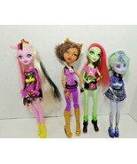 Monster High doll lot Twlya 13 wishes Bonita Femur Clawdeen Wolf Venus M... - $29.69