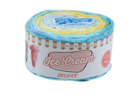 Lion Brand Ice Cream Deluxe Yarn in Southwick #912