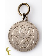 """Swiss Love Token Pendant """"CLS"""" Engraved on 1 Franc Coin  - £21.54 GBP"""