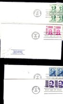 U.S. Stamps - 1967 First Day of Issue - 8 Covers - $6.95