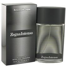 Zegna Intenso Eau De Toilette Spray 3.4 Oz For Men  - $44.23