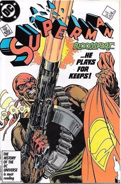 Superman Comic Book 2nd Series #4 DC Comics 1987 VERY FINE/NEAR MINT NEW UNREAD