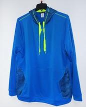 Nwt New Under Armour Hooded Mens Sweatshirt Long Sleeve Blue Loose Xl Hoodie - $61.90
