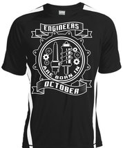 Engineers Are Born In October T Shirt, I Love My Job T Shirt - $16.99+