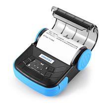 Receipt Printer Bluetooth Bill Machine Label Portable Thermal Mini Andro... - $88.99