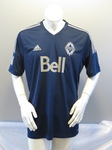 Vancouver Whitecaps Jersey - 2015 Away Jersey by Adidas - Mens Extra Large - $75.00