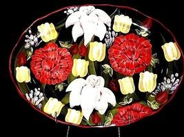 Certified International LESAL Studio Platter AA18-1306 Vintage