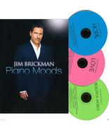 Jim Brickman PIANO MOODS:3 CD Set ● Love ● Hope ● Beautiful World ✚ PICT... - $14.20