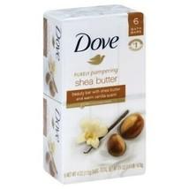 Dove Shea Butter Beauty Bar Soap 6 Bar Pack - $21.63
