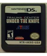 Nintendo DS game - Trauma Center: Under the Knife - $6.01