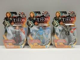 Hasbro - Marvel Thor Mighty Avenger - Lot of 3 - Thor, King Laufey & Fir... - $56.10