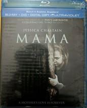 Mama Starring Jessica Chastain Blu-ray + Dvd Digital Code May Be Expired New - $9.01
