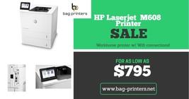 HP LASERJET M608x K0Q19A  Duplex 2nd tray network Wifi - $1,359.99