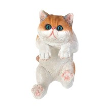 "Climbing Big-eyed Kitten ""giles"" Decor - $26.96"